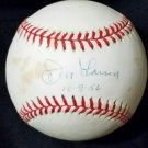 Don Larsen Yankees Single Signed Official American League Baseball (Budig) Autographed