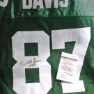 Willie Davis HOF Auto Packers Jersey Hall of Fame Signed JSA Certified Autograph