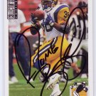 Jerome Bettis HOF Auto PSA/DNA Certified 1994 Collector's Choice #116 Rams Steelers
