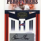 Thurman Thomas #/35 HOF Auto 2006 Gridiron Gear Performers Autograph #PR-6 Buffalo Bills, HOF
