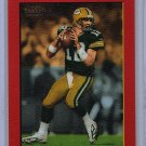 Aaron Rodgers RC 2005 Turkey Red Red Border Rookie Parallel SP #221 Packers