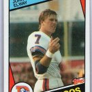 John Elway RC 1984 Topps #63  Broncos