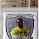 Lamarr Woodley  Auto RC 2007 Bowman Sterling Autograph BGS 9.5/10  49ers, Steelers Pop 1