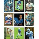 Marvin Harrison Lot of 9 Rookie Cards HOF Colts RC's