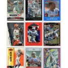 Marvin Harrison Lot of 9 Premium Football Insert Cards HOF Colts RC's Serial #'d, Refractors