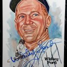 Whitey Ford Autographed Signed Perez-Steele Postcard Yankees HOF