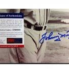 Johnny Mize HOF Signed Autographed 8 x 10 photo  PSA/DNA COA Cardinals Yankees Giants