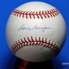 Brooklyn Dodgers Bobby Morgan Signed Autographed Official NL Baseball (White)