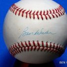 Brooklyn Dodgers Ben Wade Signed Autographed Official NL Baseball (White)