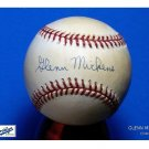 Brooklyn Dodgers Glenn Mickens Signed Autographed Official NL Baseball (Coleman)