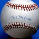 Brooklyn Dodgers Mal Mallette Signed Autographed Official NL Baseball (White)