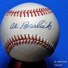 Al Barlick (HOF Umpire) Signed Autographed Official NL Baseball (Giamatti)