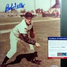 Bob Feller HOF Signed Autographed 8 x 10 photo  PSA/DNA Coa Indians