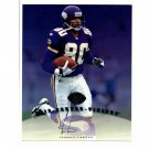 Cris Carter 1997 Leaf Authentic Signatures Autograph 8x10  Vikings, Eagles HOF