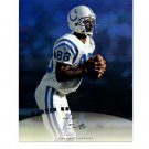 Marvin Harrison 1997 Leaf Authentic Signatures Autograph 8x10 Colts HOF