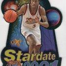 Allen Iverson 1997-98 EX2001 Stardate 2001 #7SD 76ers HOF