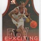 Allen Iverson 1999-00 EX Exciting Die-cut #3 of 10XCT 76ers HOF
