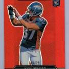 Eric Decker #/25 RC 2010 Topps Platinum Rookie Red Refractor #151 Jets Broncos
