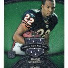 Matt Forte 2008 Bowman Green Sterling Rookie Jersey #149 Bears Jets RC #/299