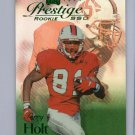 Torry Holt RC 1999 Playoff Prestige Rookie SSD Emerald #B166  Rams #/500