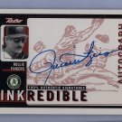 Rollie Fingers HOF 1999 UD Retro INKredible Autographs #RF Brewers, A's, HOF