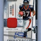 Eric Decker Auto RC 2010 Leaf R&S Dress for Success Autograph #14 Jets Broncos #/100