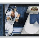 Peyton Manning 2010 Gridiron Gear Game-breaker 2-Color Prime Patch #9 Broncos, Colts #/50