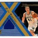 Dirk Nowitzki 2001-02 Topps Xpectations Class Challenge #CC-DN  G/U Warm-ups Mavericks