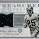 Fred Biletnikoff #/25 HOF 2015 Panini National Treasures Treasured Receivers #TWR-FB  Raiders