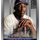 Vladimir Guerrero Auto 8 x 10 Signed Autographed 1997 Donruss Studio 8x10 card #21 Angels, Expos