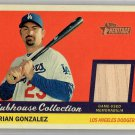 Adrian Gonzalez 2016 Topps Heritage Clubhouse Collection Relics #CCR-AG Dodgers, Red Sox, Rangers
