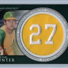 Catfish Hunter 2012 Topps Manufactured Retired Number Patch #RN-CH A's, Yankees, HOF