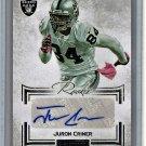 Juron Criner 2012 Panini Playbook Autographs #126 Raiders #/140