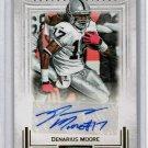 Denarius Moore 2012 Panini Playbook Autographs #57  Raiders #/49