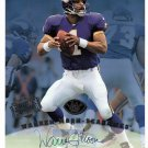 Warren Moon HOF Auto 1997 Leaf Authentic Signatures Autograph 8x10 Vikings, Seahawks 1st Down