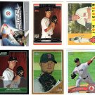 Jon Lester Lot of (7) Cards RC's Refractor, Inserts Cubs Red Sox