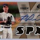 Miguel Montero RC Auto 2007 SPx Rookie Signatures #116 Cubs