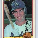Steve Garvey Autographed Signed 1983 Donruss #488 Dodgers