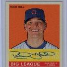 Rich Hill 2007 UD Goudey Graphs Autograph #GG-HI Dodgers, Cubs