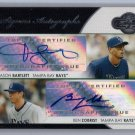 Ben Zobrist 2008 Topps Co-Signers Co-Signers Autographs #CS-BZ  Cubs 2016 World Series MVP