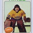 Rogatien Vachon 1975-76 Topps #160 Canadiens, Kings HOF Rogie