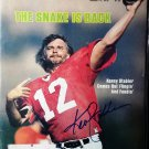 Ken Stabler Signed 1979 Sports Illustrated Magazine Oakland Raiders HOF Autographed