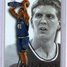 Dirk Nowitzki RC 1998-99 Flair Showcase Row 3 #16 Mavericks Rookie