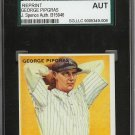 George Pipgras Signed 1933 Goudey Reprint Card JSA Certified SGA Authentic Autograph Yankees