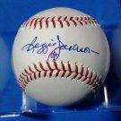 Reggie Jackson Steiner COA Autographed Baseball (Selig) HOF Yankees Official Single Signed