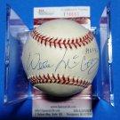 Willie McCovey Autographed Baseball (Coleman) w/ Inscription HOF Giants Big Mac JSA coa