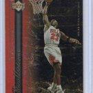 Michael Jordan Insert 1999-00 Upper Deck NBA Legends Recollections #R1 Bulls HOF