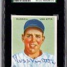 Russ Van Atta Signed 1933 Goudey Reprint Card JSA Certified SGA Authentic Autograph Yankees Rare!