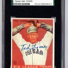 Ted Lyons Signed 1933 Goudey Reprint Card JSA Certified SGA Authentic Autograph HOF White Sox