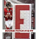 Matt Ryan #/99 RC 2008 UD Icons Rookie of Year Letterman #HROY Falcons #/99
